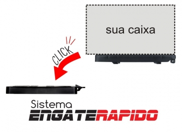 Clip Bike com base de engate rápido